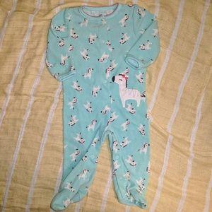 Baby girls sleeper size 3-6 mos